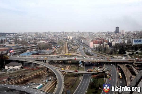 Mapa Beograda Autokomanda Superjoden